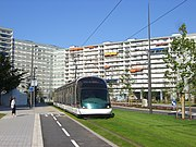 Strasbourg - Straßenbahn - Stadtumgestaltung
