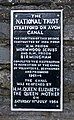 Stratford upon Avon canal restoration plaque 1964.jpg