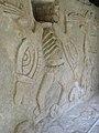 Stucco figures at Mayapan ruins 2009 Yucatan 01.jpg