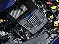 Subaru Levorg FA20 DIT engine at the Tokyo Motor Show 2013.jpg