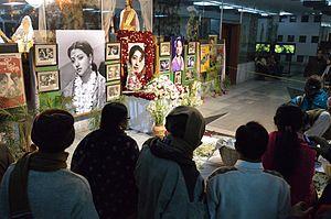 Suchitra Sen - Suchitra Sen remembrance at Rabindra Sadan, Kolkata. 19 Jan 2014.
