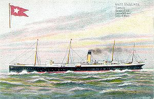 SS Suevic - Image: Suevic postcard