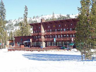 Sugar Bowl Ski Resort - Image: Sugar Bowl Ski Resort Modern Lodge