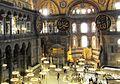 Sultansloge mit Mihrab und Minbar, Hagia Sophia, Istanbul - panoramio.jpg