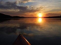 Summer sunset over Loch Snizort (geograph 3013112).jpg
