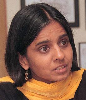 Sunita Narain Indian environmentalist