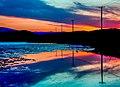 Sunset along the Trans Canada Hwy near Kamloops (13657767995).jpg