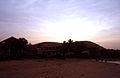 Sunset at Bheemunipatnam beach.JPG