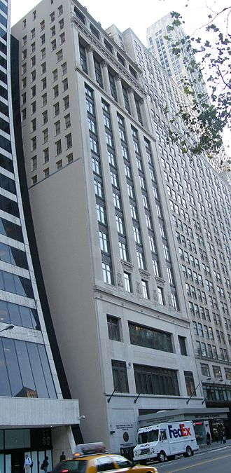 State University of New York College of Optometry - Aeolian Building, 33 West 42nd Street