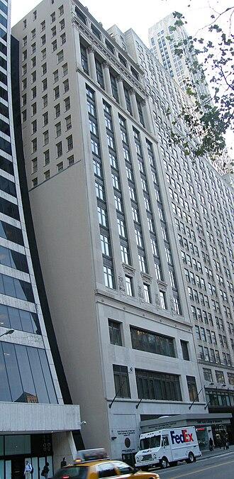 Aeolian Hall (Manhattan) - Aeolian Building