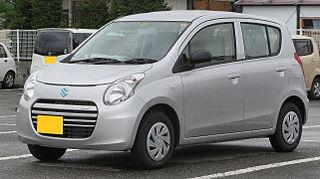 Suzuki Alto Kei car manufactured by Suzuki