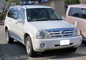 Suzuki XL-7 - Suzuki Grand Escudo (Japan)