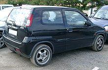 Suzuki Ignis rear 20070926.jpg