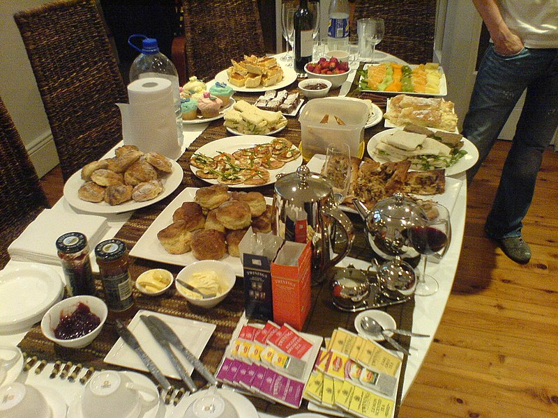 Swedish buffet-