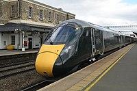 Swindon - GWR 800030+800025 Swansea service.JPG