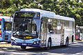 Sydney Buses (2457 ST) Custom Coaches 'CB80' bodied Scania K280UB on Olympic Boulevard at Sydney Olympic Park.jpg