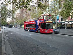 Sydney Explorer (TV 7706) Anhui Ankai HFF6121GS-3 double decker at Stand A on Alfred Street.jpg
