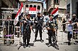 Symbolic boy soldiers defending Damascus against terrorist attacks.jpg