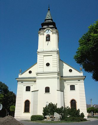 Szarvas - Old Lutheran church (1786-1788)