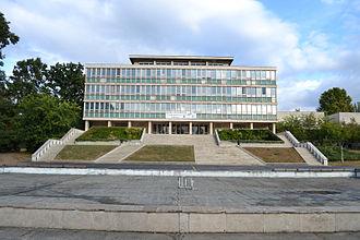 Gödöllő - The main building of the university's faculty of Mechanical Engineering