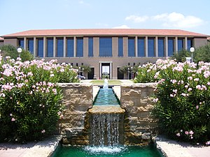 Texas A&M International University - Image: TAMIU Water Fountain