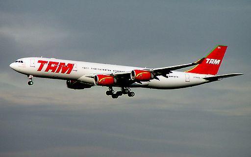 TAM A340-500 PT-MSN FRA