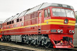 TEP70 class of Soviet diesel locomotives