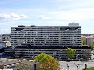 Turku University Hospital - Image: TYKS, U sairaala