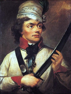 Corps of Cadets (Warsaw) - Tadeusz Kościuszko, member of the Corps' first class and its most famous alumnus