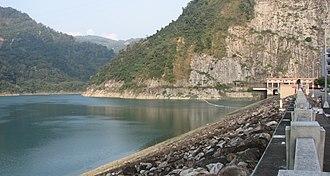 Renewable energy in Taiwan - Mingtan Pumped Storage Hydro Power Plant in Shuili Township, Nantou County