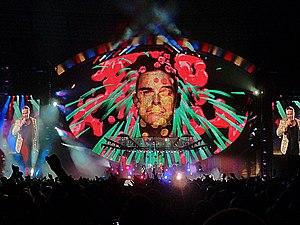 Take the Crown Stadium Tour - Robbie at the Etihad Stadium, June 2013
