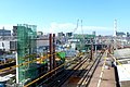 Takenotsuka Station new station construction - b - July 21 2015.jpg