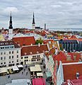 Tallinn Blick vom Rathausturm 7.JPG