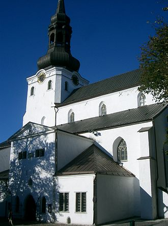 Estonian Evangelical Lutheran Church - St Mary's Cathedral, Tallinn