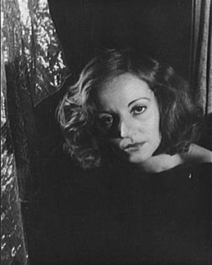 Actress Tallulah Bankhead. January 25, 1934.