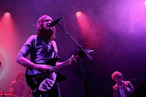 ARIA Music Awards of 2013 - Tame Impala were nominated for seven awards and won three. Photo taken in 2012.