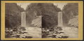 Taughannock Fall, 215 feet high, from the lower ravine, at sunrise, by E. & H.T. Anthony (Firm).png