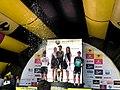 TdP2019 stage 2 stage podium2.jpg