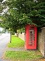 Telephone kiosk in Sholden - geograph.org.uk - 236995.jpg