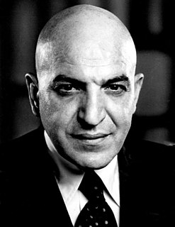 Telly Savalas American film and television actor and singer