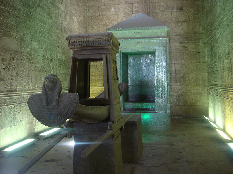 File:Temple of Edfu sanctuary.jpg