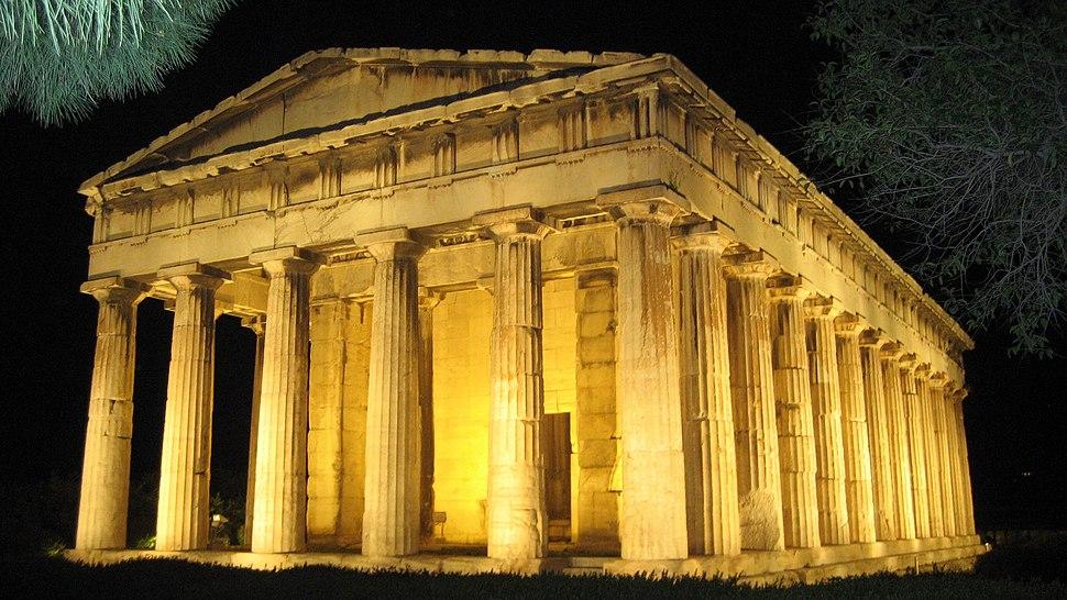 Temple of Hephaestos; Greece, Athens 450-441 B.C.