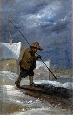 Teniers, David the younger - Winter - Google Art Project