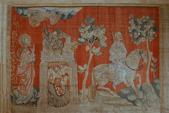 Apocalypse Tapestry - Image: Tenture Apocalypse Angers cavalier 4