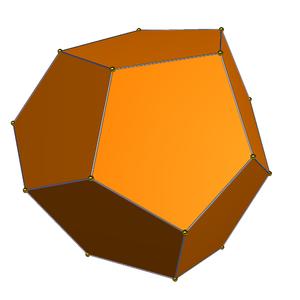 Triakis tetrahedron - Tetartoid 20%