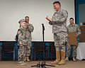 Texas Military Forces honors cancer fighter at honorary enlistment ceremony 150327-Z-FG822-010.jpg