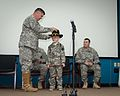 Texas Military Forces honors cancer fighter at honorary enlistment ceremony 150327-Z-FG822-013.jpg