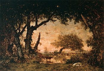 Théodore Rousseau - Edge of the Forest at Font...