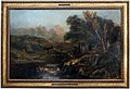 Théodore rousseau, paesaggio collinoso con un pescatore, 1830 ca.jpg