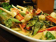Thai Curry mit Meeresfrüchten